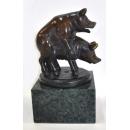 銅雕快樂豬 y14082 立體雕塑.擺飾 立體擺飾系列-動物、人物系列 -無庫存