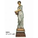 銅雕系列-銅雕大型擺飾-灑水女郎 y14141 立體雕塑.擺飾 人物立體擺飾系列-西式人物系列