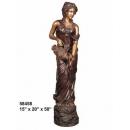 銅雕系列-銅雕大型擺飾-倒水女郎 y14142 立體雕塑.擺飾 人物立體擺飾系列-西式人物系列