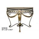 y14148 銅雕系列-銅雕擺飾- 半圓桌