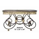 y14149 銅雕系列-銅雕擺飾- 長型桌