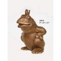y14153 銅雕系列-銅雕擺飾-青蛙王子