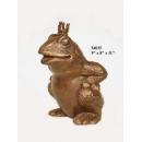 銅雕擺飾-青蛙王子 y14153 立體雕塑.擺飾 立體擺飾系列-動物、人物系列