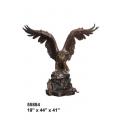 y14163 銅雕系列-銅雕大型擺飾 - 老鷹