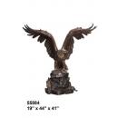 銅雕老鷹 y14163 立體雕塑.擺飾 立體擺飾系列-動物、人物系列
