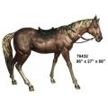 y14165 銅雕系列-銅雕大型擺飾 - 馬(古銅色)