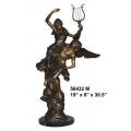 銅雕系列-銅雕人物-彈琴情侶 y14173 立體雕塑.擺飾 人物立體擺飾系列-西式人物系列