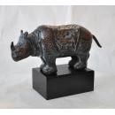 銅雕古典犀牛 y14179 立體雕塑.擺飾 立體擺飾系列-動物、人物系列