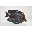 銅雕倒吊魚 y14191 立體雕塑.擺飾 立體擺飾系列-動物、人物系列