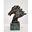 銅雕小馬頭 y14193 立體雕塑.擺飾 立體擺飾系列-動物、人物系列