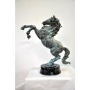 銅雕大躍馬(銅綠色)-顏色可訂製 y14194 立體雕塑.擺飾 立體擺飾系列-動物、人物系列