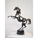 銅雕躍馬中原 y14195 立體雕塑.擺飾 立體擺飾系列-動物、人物系列