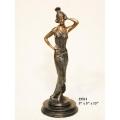 銅雕系列-銅雕人物-維納斯淑女 y14212 立體雕塑.擺飾 人物立體擺飾系列-西式人物系列