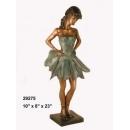 銅雕系列-銅雕人物-跳舞女孩 y14214 立體雕塑.擺飾 人物立體擺飾系列-西式人物系列