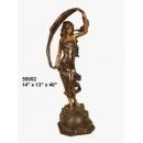 銅雕系列-銅雕人物-舞者 y14217 立體雕塑.擺飾 人物立體擺飾系列-西式人物系列