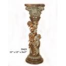 銅雕系列-銅雕人物-小孩爬柱 y14229 立體雕塑.擺飾 人物立體擺飾系列-西式人物系列