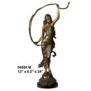 銅雕系列-銅雕人 舞者 y14232 立體雕塑.擺飾 人物立體擺飾系列-西式人物系列