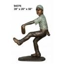 投手小男孩 y14263 立體雕塑.擺飾 立體擺飾系列-動物、人物系列