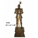 y14267 銅雕系列- 銅雕大型擺飾 - 武士