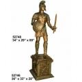 y14268 銅雕系列- 銅雕大型擺飾 - 戰士(共2款尺寸)