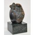 銅雕系列-銅雕人物-銅雕招財翁 y14273 立體雕塑.擺飾 人物立體擺飾 系列-中式人物系列