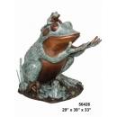 銅雕動物-蛙 y14418 立體雕塑.擺飾 立體雕塑系列-動物雕塑系列