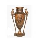 落地花器(y14683 銅雕系列- 銅雕大型擺飾 )