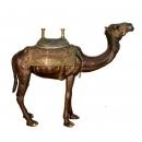 站姿駱駝(y14685 銅雕系列- 銅雕大型擺飾、銅雕動物 )