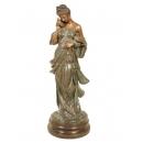 和平女神(y14700 銅雕系列- 銅雕大型擺飾、銅雕人物 )