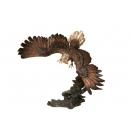老應展翅(y14701 銅雕系列- 銅雕大型擺飾、銅雕動物 )