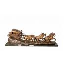逆勢而昇(y14704 銅雕系列- 銅雕大型擺飾、銅雕動物 )