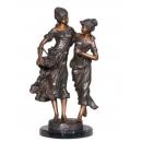 歡樂時光(y14715 銅雕系列- 銅雕大型擺飾、銅雕人物 )