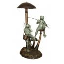 休憩(y14716 銅雕系列- 銅雕大型擺飾、銅雕動物 )