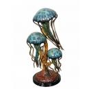 水母(y14718 銅雕系列- 銅雕大型擺飾、銅雕動物 )