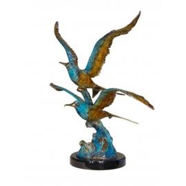 展翅高飛(y14719 銅雕系列- 銅雕大型擺飾、銅雕動物 )