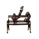 猴子樂隊(y14720 銅雕系列- 銅雕大型擺飾、銅雕動物 )