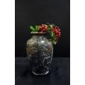 銅雕花瓶(不含擺飾)-y15317-銅雕系列