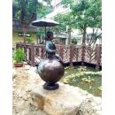 傘下女孩y15271銅雕系列- 銅雕大型擺飾、銅雕人物