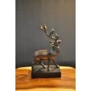 耶誕鹿y15297-銅雕系列-銅雕動物
