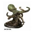 章魚銅雕-y15335-銅雕 - 銅雕動物