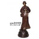 優雅女仕-y15338-銅雕 - 銅雕人物