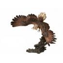 展翅老鷹-y15339-銅雕 - 銅雕動物