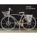 大中自行車-y15404-鐵材藝術-花架