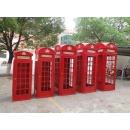 英國電話亭(大)高2.2米 y15461 鐵材藝術-鐵材傢飾系列