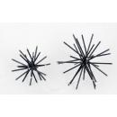 金屬擺件-黑/2入一組-y15220-鐵材藝術- 鐵材擺飾系列