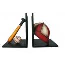 棒球少年書擋(y14750 鐵材藝術系列-其它)