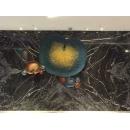 鐵藝荷葉壁飾-y15504-鐵雕壁飾系列-鐵材藝術