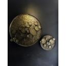 鐵藝荷葉壁飾-y15510-鐵雕壁飾系列-鐵材藝術