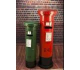 郵筒 y15560 鐵材藝術-鐵材擺飾系列-立體擺飾系列-紅色(h150cm)