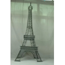y15790鐵材藝術-鐵材擺飾系列-鐵藝巴黎鐵塔  另有款式白色